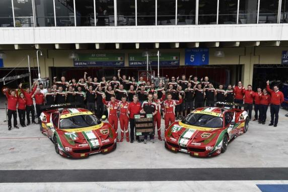 FIA WEC: Ferrari takes GT Constructors' title and it's a new triple victory