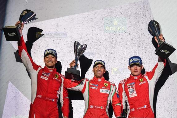 "FIA Wec, ""6 hours of Mexico"": double podium and first position in GTE Am"