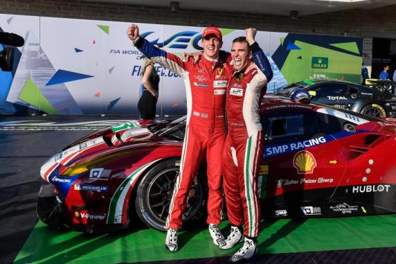 FIA WEC: third win of the season at Austin