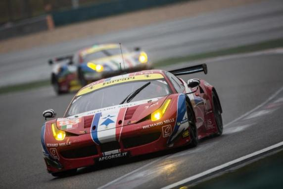 "Victory and podium in the ""6 Hours Of Shanghai"",  seventh round in the FIA World Endurance Championship"
