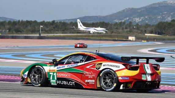To hold firm once again at the front of the FIA World Endurance Championship (WEC): a new challenge for Ferrari and AF Corse