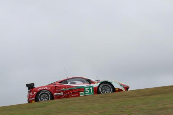 "Fisichella and Bruni win ""Sao Paolo 6 Hours\"" in Ferrari 458 Italia GT2"
