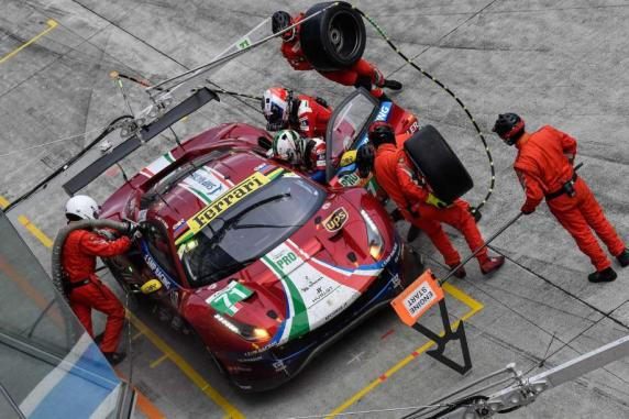 In the 6 Hours of Fuji some episodes affected the race