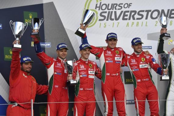 FIA WEC, Silverstone – One-two for the 488 in LMGTE Pro, victory of the 458 in LMGTE Am.