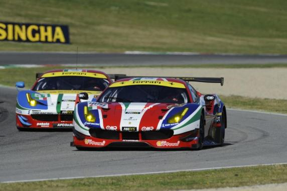 AF Corse will line up two Ferrari 488s and a 458 Italia in the 2016 World Championship