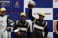 AT Racing: podium in the first round of the 2013 GT Open