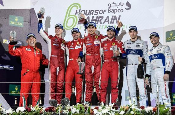 AF Corse won the fifth title in six season