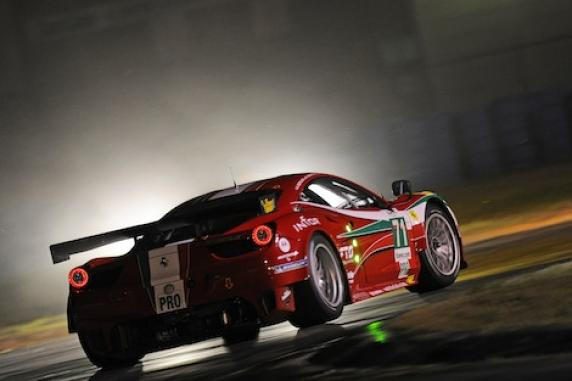 AF Corse has the lead of the Wec from the very beginning thanks to the win of Bertolini, Beretta and Cioci