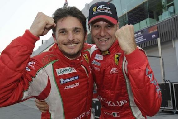 AF Corse won the Intercontinental Le Mans Cup with Fisichella and Bruni on 458 Italia. Ferrari at the top of the Constructors