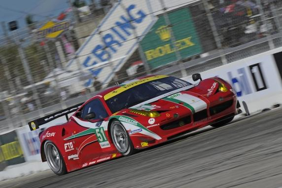 FIA WEC, 6H of Spa: AF Corse at the start with four Ferrari 458 Italia GT2