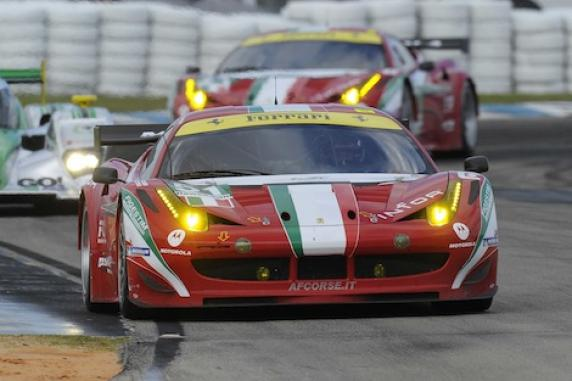 Sebring 12H: pole position for Fisichella, Bruni and Vilander on AF Corse Ferrari 458