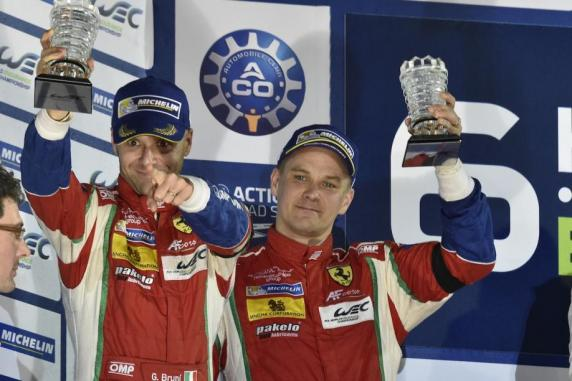 The FIA WEC finished with a podium in Bahrain