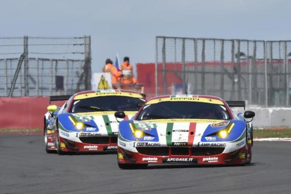 FIA World Endurance Championship: opening in champions style for the AF Corse Ferrari 458's