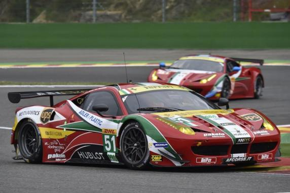 FIA WEC: the AF Corse Ferrari 458�s Italia defend the leadership in the �Shanghai 6 Hours�
