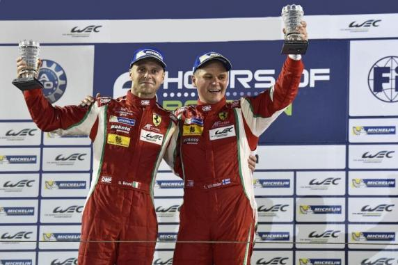 FIA WEC: titles for Bruni, Vilander and AF Corse with the Ferrari 458 Italia