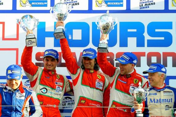 Elms: winning opening for the AF Corse Ferrari 458's