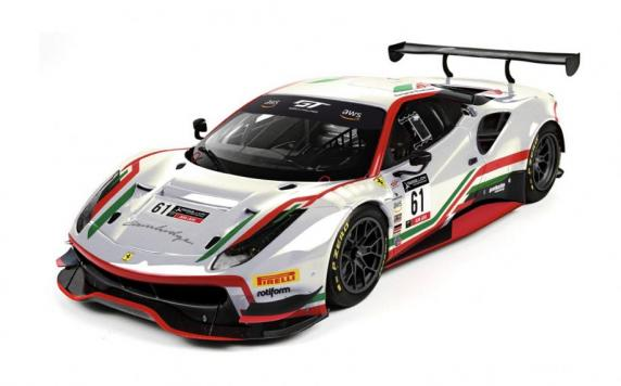 AF Corse unveils its new engagement in the GT World Challenge America