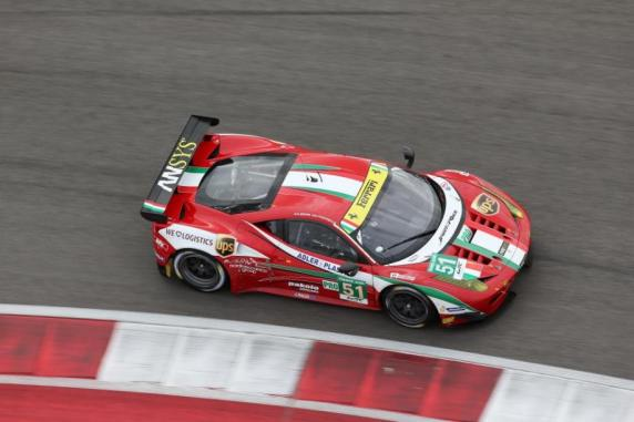 Fisichella and Bruni are first in the Fia Wec. Ferrari rules among the Constructurs and AF Corse leads the Team classification