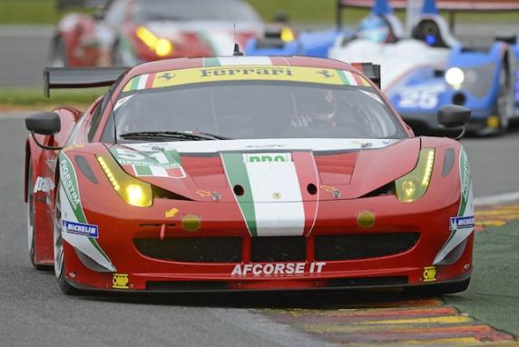 "AF Corse will be protagonist of the ""24 Hours of Le Mans"" with four Ferrari 458 Italia GT2"
