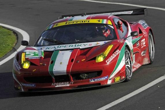 AF Corse won Team and Driver titles of the Le Mans Series with Ferrari 458 Italia