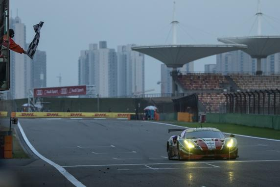 FIA WEC: double podium for AF Corse Ferraris in the 6 hours of Shanghai