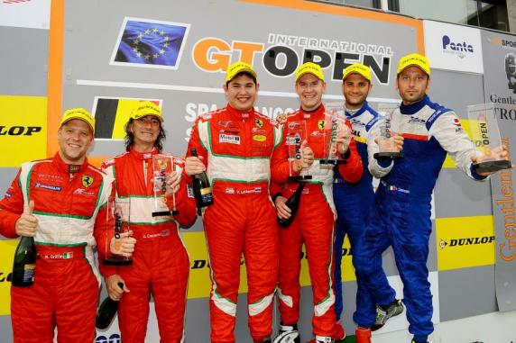 GT Open: the first places continue for drivers and cars of AF Corse