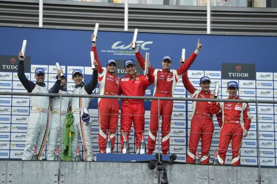 FIA WEC, Spa: avalanche of victories and podium for the Ferrari 458 Italia GT2