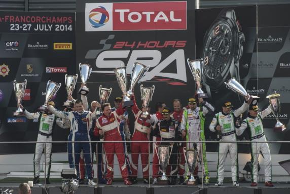 """24 Hour of Spa"": two victories and four podia for AF Corse Ferrari 458's"