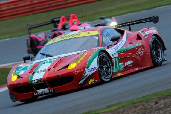 FIA WEC: four AF Corse Ferrari at Spa