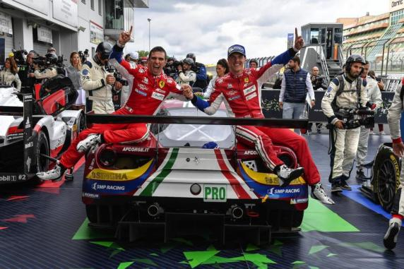 FIA WEC: at Nuerburgring victory for Ferrari and AF Corse