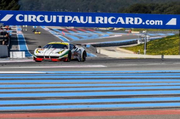 European Le Mans Series 2016, AF Corse lines up two Ferraris. In addition, the 458s of AT Racing and Formula Racing
