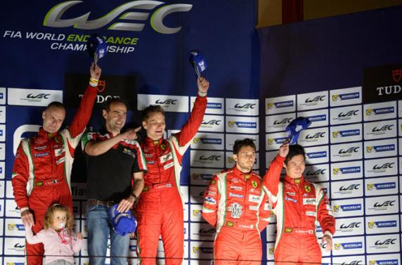 Victory in Bahrain, victory of three titles.