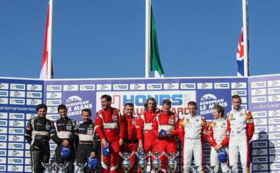 "European Le Mans Series: victory in the ""4 Hours of Paul Ricard"" and first position in the standings"