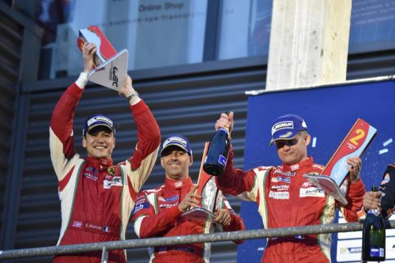 "FIA WEC: second podium for Perrodo-Collard-Aguas in the GTE Am. ""Stop and go"" for the reigning champion 458"