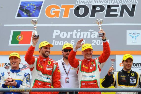 New podiums for the AF Corse Ferrari 458 Italias in the GT Open International