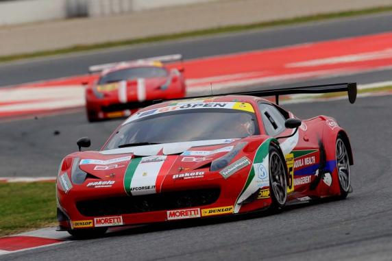 GT Open International: titles for Giorgio Roda and Claudio Sdanewitsch in the AF Corse Ferrari 458s Italia