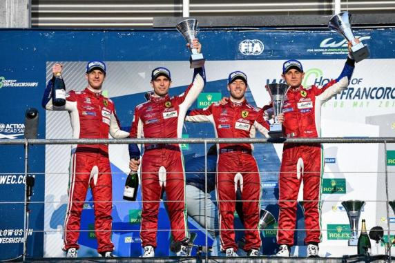 FIA Wec, Spa: 1-2 for the 488s and first spot of Ferrari in GT Manufactures world championship