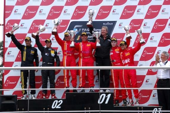 FIA GT1 and FIA GT3 championships: the AF Corse Ferrari 458 Italia gained victories and brilliant results. Ardagna-Cirò won two races in the FIA GT3, first podium in GT1 thanks to the perfomances of Salaquarda-Vilander.